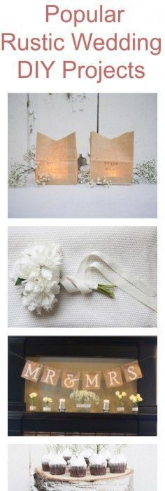 10 rustic wedding diy projects you should try rustic diy weddings popular rustic wedding do it yourself projects solutioingenieria Image collections