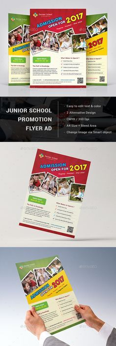 School Admission Flyer Templates  Flyer Template Psd Templates