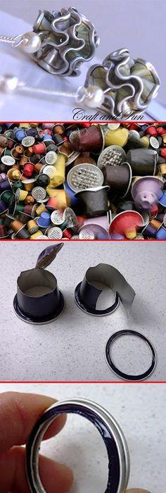 Plastic art DIY jewelry straws | Jewelery | Pinterest | Craft, Straw ...
