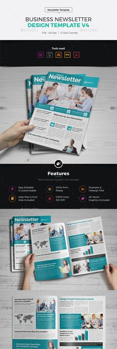 Medical Newsletter Template Newsletter templates, Print templates