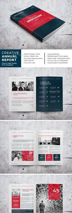 Portfolio  Brochures Catalog Layout And Brochure Template