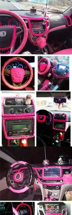 Car DIY Ruffle Lace Fringe For Interior Decorations