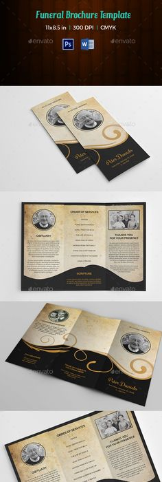 free funeral program templates free printable funeral program - template