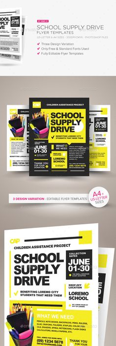 Food Drive Flyer Templates Food Drive Flyer Template And Template