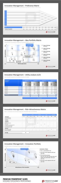 Innovation Management Powerpoint Templates For The Presentation Of