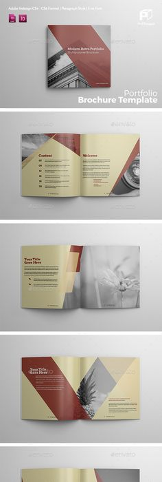 ProBiz Business And Corporate Personal Portfolio Personal - Indesign templates brochure