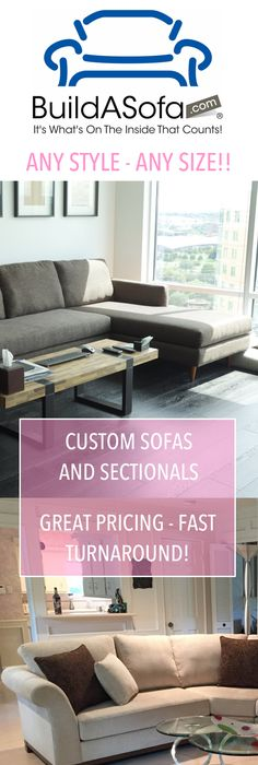 Coventry Sofa in an awesome gray tweed. www.buildasofa.com ...