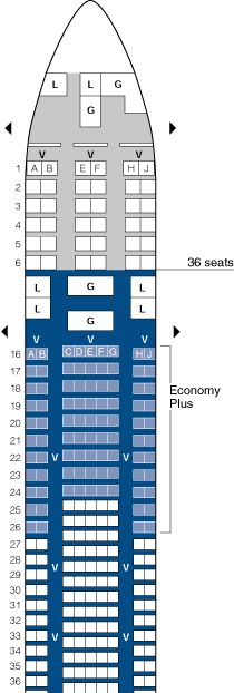 British Airways Boeing 744 Seating Chart