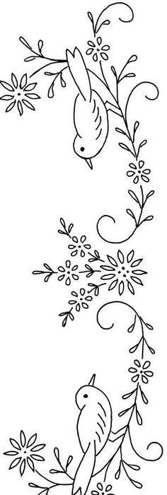 Vintage Embroidery Pattern Free Pattern By Latonya Beyaz Is