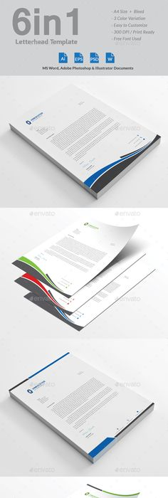Free Microsoft Word Letterhead Templates Delectable Letterhead  A4 Illustrators And Fonts