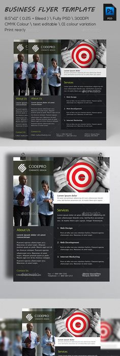 Business Leadership Conference Flyer Ad Template By Stocklayouts