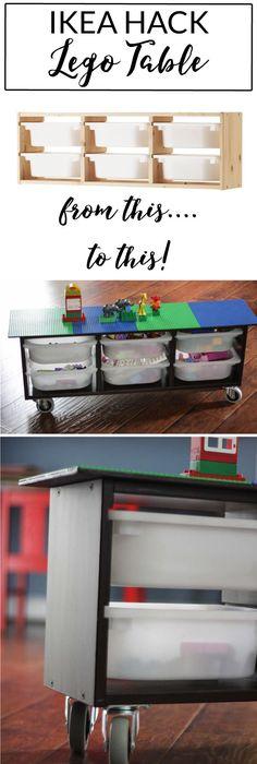 Beautiful Convertible Lego Table