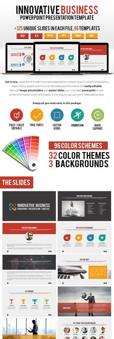 Business Solution Powerpoint Presentation Template PowerPoint - Awesome logo presentation template scheme