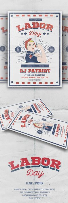 Labor Day Flyer Labour, Event flyers and Flyer template - labour day flyer template