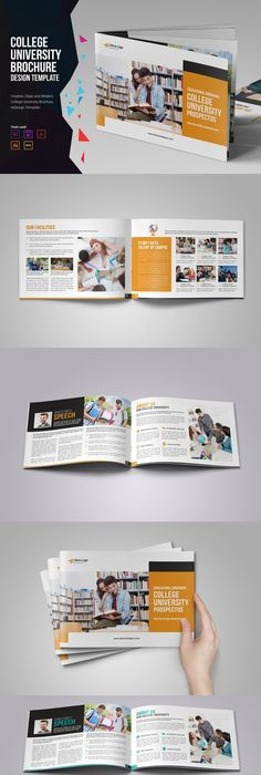 eFinance Brochure Template Pack Brochure template, Brochures and
