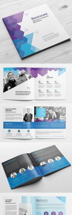 Company Profile Brochure Template Company profile, Brochure