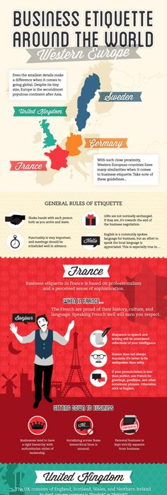 15 business etiquette rules every professional needs to know infographic business etiquette around the world western europe edition techstars reheart Choice Image