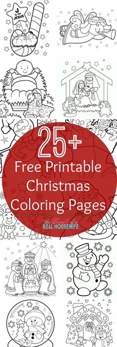 Free Early Reader Color Through the Christmas Story Nativity Story - new coloring pages for christmas story