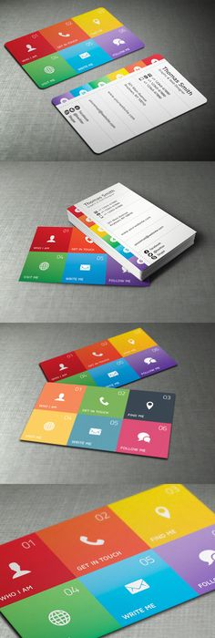 A Unique Iphone Business Card Design For The TechSavvy