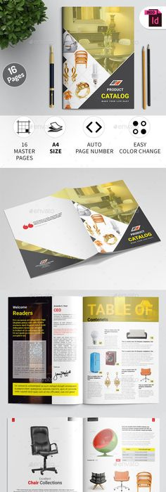 products catalogs bi fold brochure template vol 4 brochure