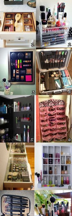Many Makeup An Cosmetics Organization Ideas   Get Ideas For Your  Organization Here