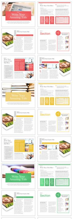 Travel Book Template from iBooks Author Templates #apple #ebook ...