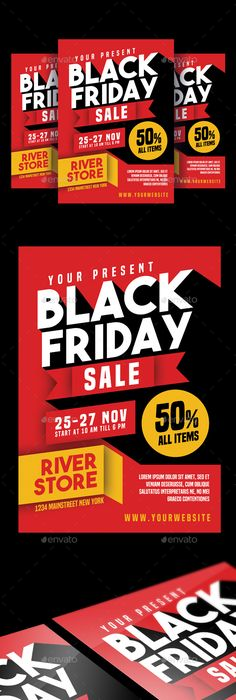 Black Friday Sale Flyer  Sale Flyer Flyer Template And Email Design