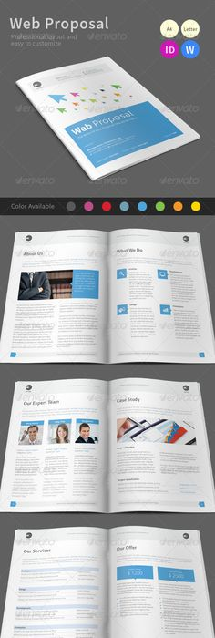 Clean  Creative Indesign Proposal  Proposals Proposal Templates