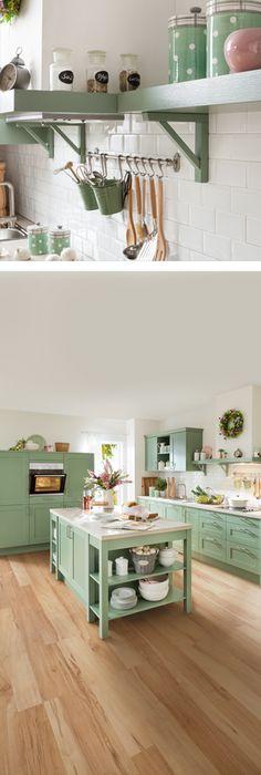 Nolte-Küche LUCCA im Landhaus-Stil http://www.hoeffner.de/kuechen ...