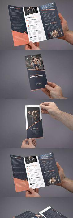 A Landscape Brochure MockUp  Brochures Mockup And Template