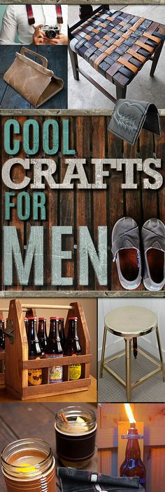Manly do it yourself boyfriend and husband gift ideas masculine awesome crafts for men and manly diy project ideas guys love fun man cave ideas solutioingenieria Images