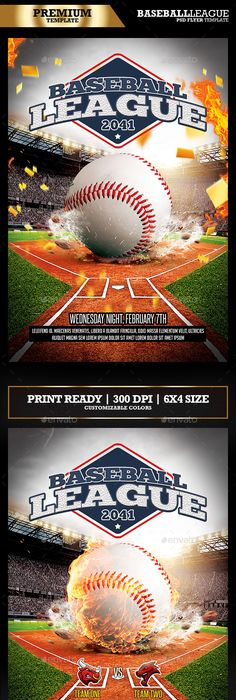 Baseball Flyer Template Free Templates