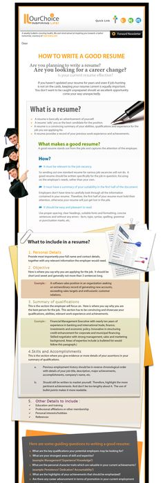 A Good Resume Pleasing 19 Reasons Why This Is An Excellent Resume  Sample Resume And .