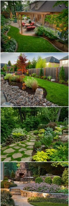 14 Garden Landscape Design Ideas. Back Yard ...