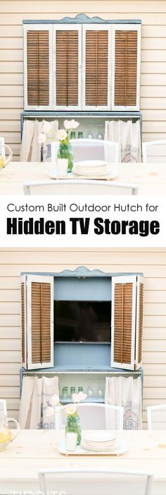 Hiding the Bedroom TV Transforming furniture, Tv storage and Storage