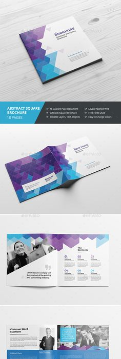 Corporate Brochure Template 16 Page Corporate Brochure Indesign
