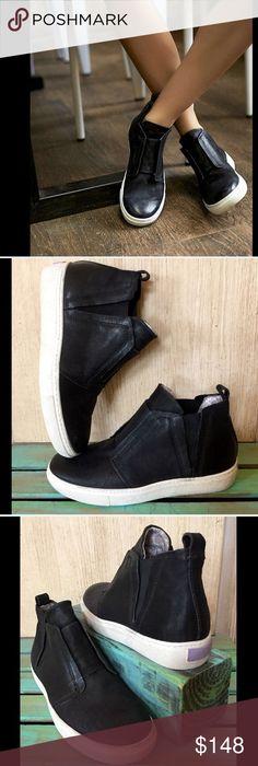 Selling this Free People X Mjus black Slip On Sneakers 38 7/7.5 on Poshmark  · Slip On SneakersHigh Top ...