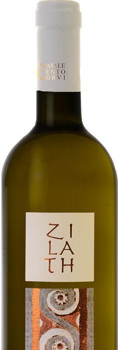 Vino blanco italiano, toda la etiqueta, además del nombre, en latín ...