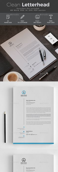 Letterhead template letterhead template stationery printing and letterhead stationery print templates download here https graphicriver spiritdancerdesigns Images