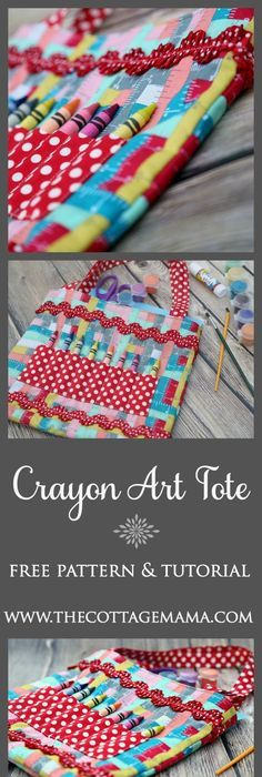 Patterned business card black business card business cards and free crayon art tote sewing pattern and tutorial from the cottage mama thecottagemama reheart Choice Image