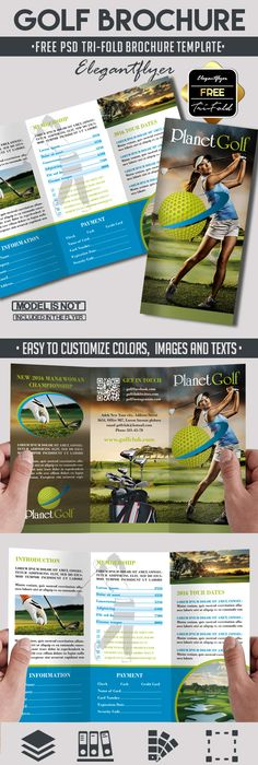 Photography  Free Psd TriFold Psd Brochure Template  Brochure