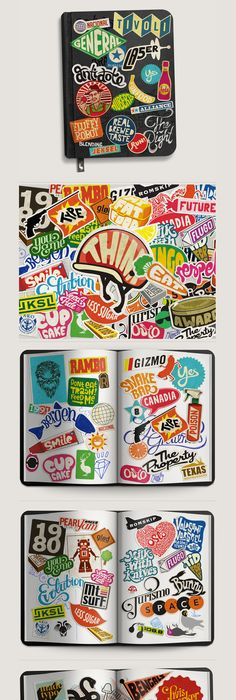 Sticker typography mats ottdal