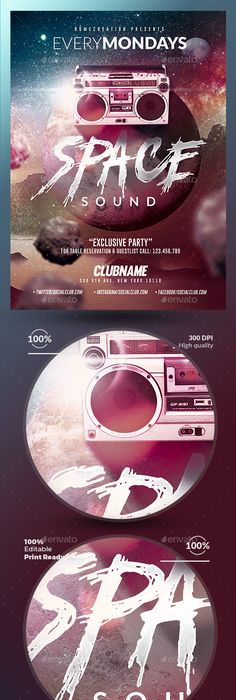 Club House Party Flyer  Party Flyer Flyer Template And House