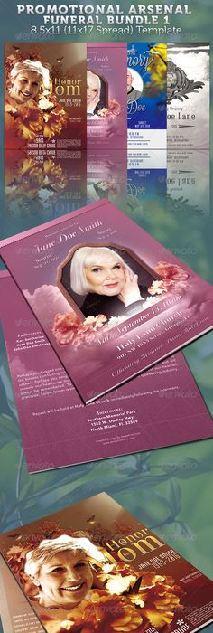 Funeral Bulletins Or Obituary Programs Legal Size Booklets