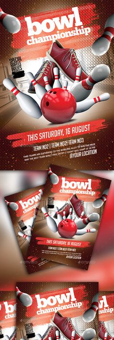 Red Pepper Retro  Vintage Style Graphics  Bowling Logo Template