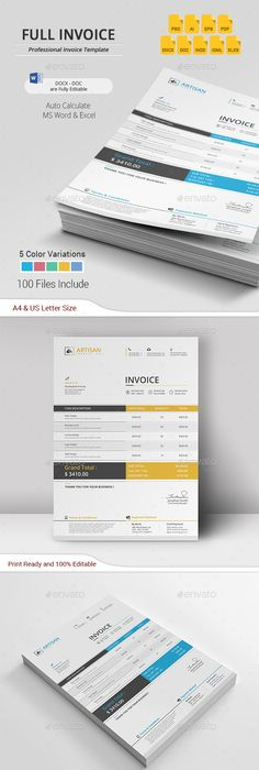 Colourful Business Letterhead   Letterhead Template Stationery