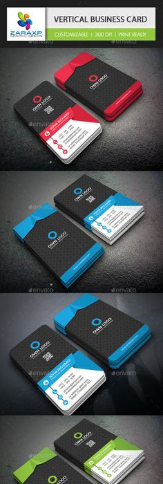 Creative vertical business card design template business cards creative vertical business card design template business cards print template psd download here httpsgraphicriveritemcreative vertical accmission Gallery