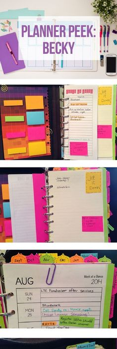 How to use a Planner to get Organised Planners, Organizing and - college planner organization