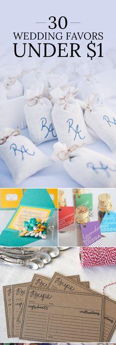 Wedding Favors for Less Than $1   Wedding ideas!   Pinterest ...