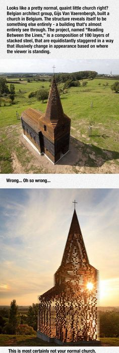 Funny Pictures About This Church In Belgium Was Brilliantly Designed. Oh,  And Cool Pics About This Church In Belgium Was Brilliantly Designed.